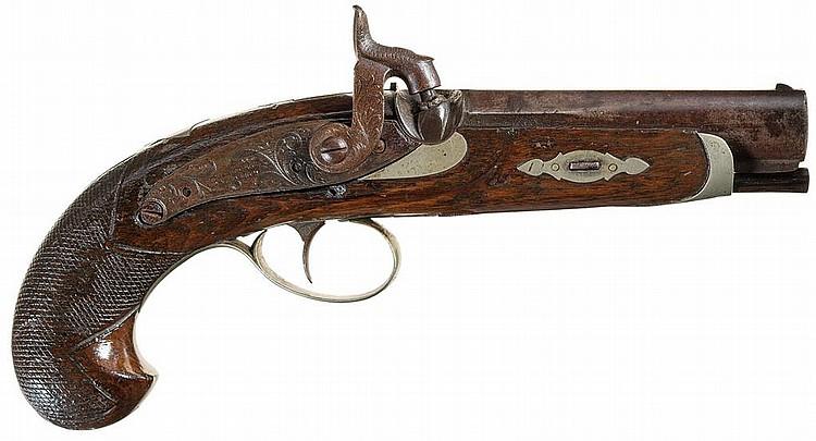 Silver Inlays Pistol Grips