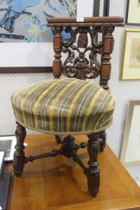 Antique French smoking chair