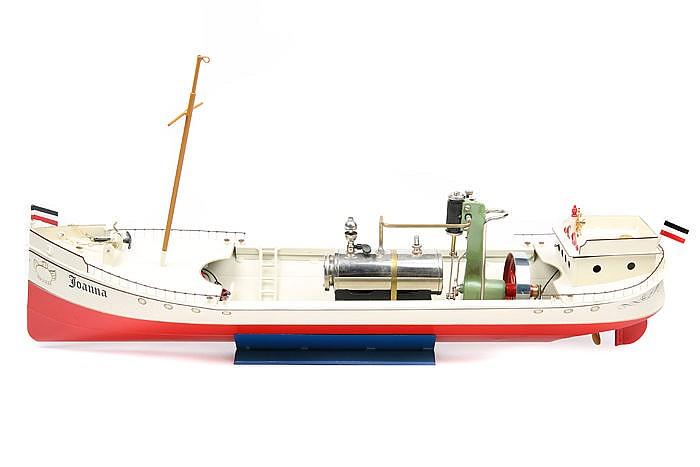 A German Tucher Amp Walther TWT727 Steam Yacht Joanna A Limit