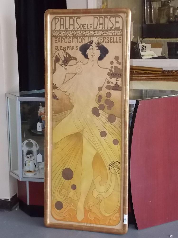 Le Palais De La Danse : palais, danse, Price:, C.1900, Palais, Danse, Poster,, Emmanuel, Orazi