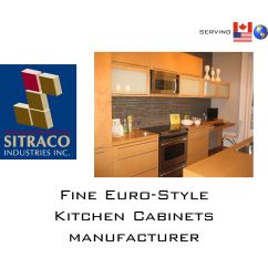 Kitchen Cabinet Manufacturers Canada Green Accessories Sitraco Industries Inc By Said Tadjer Issuu