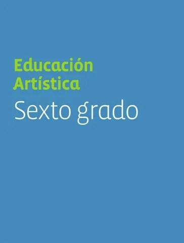 Educación Artística 6to. Grado