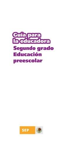 Guia de la Educadora 2do. Grado