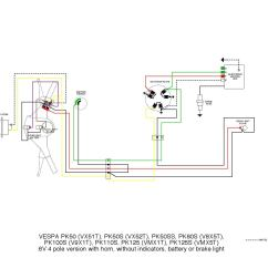 Four Way Light Switch Wiring Diagram For Trailer 7 Pin Plug Issuu Vespa Pk Diagrams By Et3px
