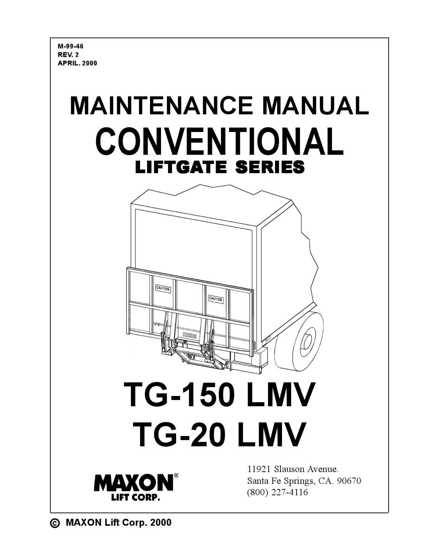 Maxon Liftgate Wiring Diagram S203t : 35 Wiring Diagram