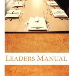 prodigal god leaders manual [ 1060 x 1500 Pixel ]