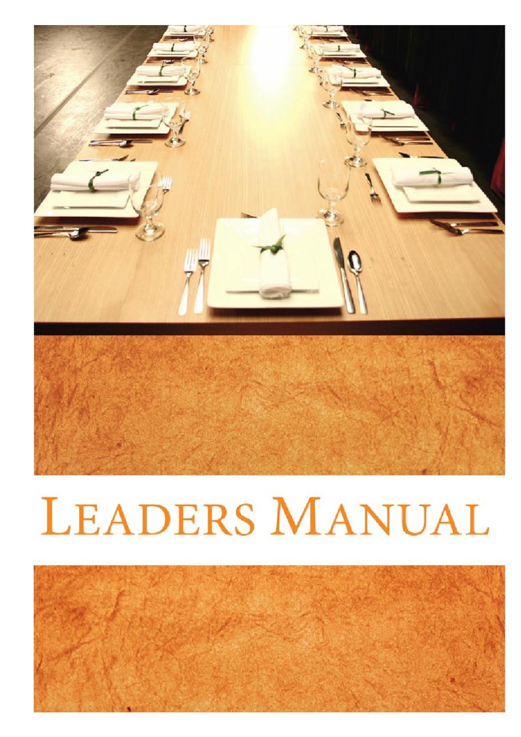 hight resolution of prodigal god leaders manual