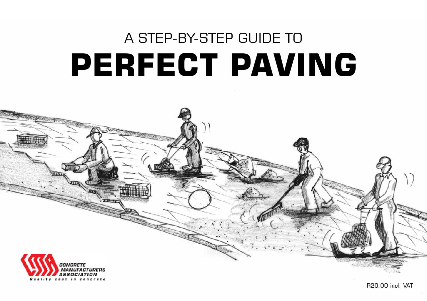 Step by Step Guide to Perfect Paving by Concrete