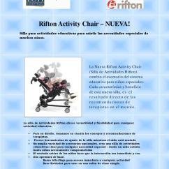 Rifton Activity Chair Hanging Rattan Egg Ficha Tecnica Silla De Sedestacion