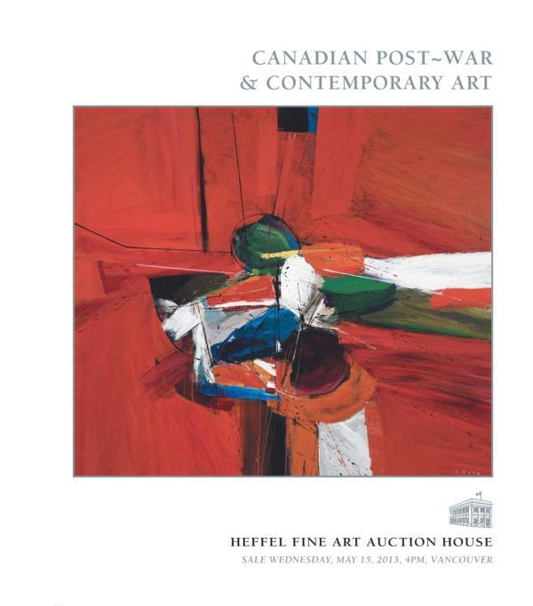 Canadian Post War & Contemporary Art Heffel Fine