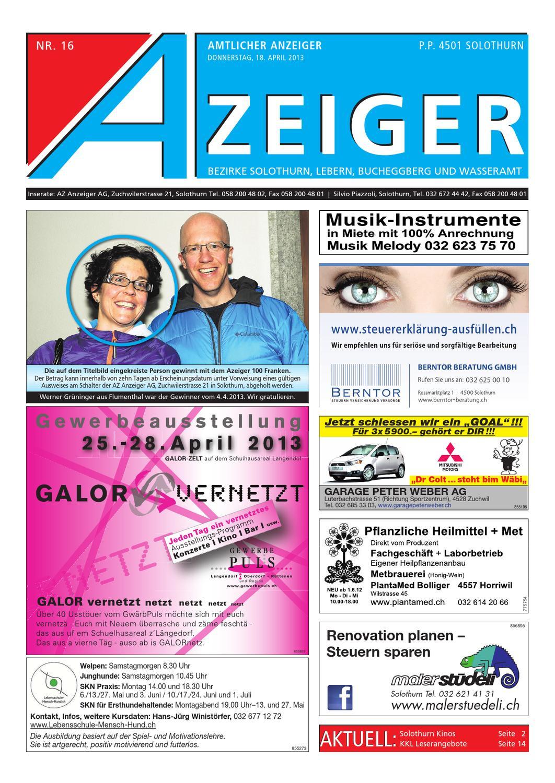Azeiger_16_2013 by AZAnzeiger