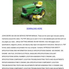 Electrical Wiring Diagram Books 2003 Dodge Ram 2500 Radio John Deere 325 335 345 Service Repair Manual By Kari Mabey - Issuu