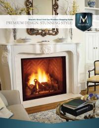 ISSUU - Majestic Direct Vent Gas Fireplaces by Meek Lumber ...