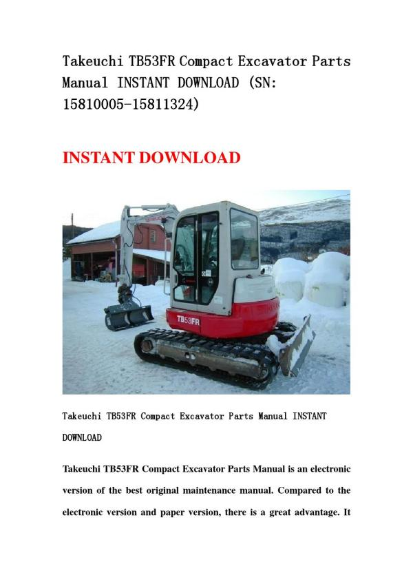 20+ Takeuchi Parts Pictures and Ideas on Meta Networks
