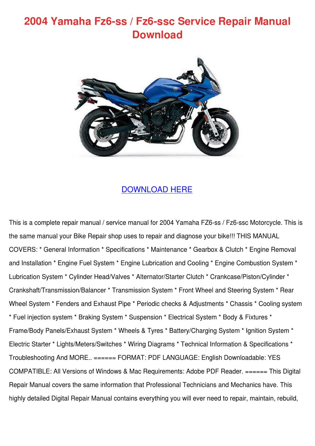 2002 Yamaha R1 Ignition Wiring Diagram
