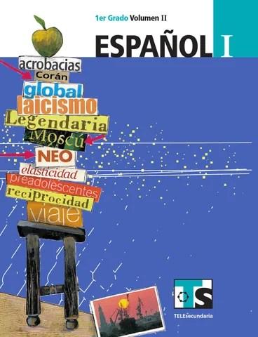 Español 1er. Grado Volumen II