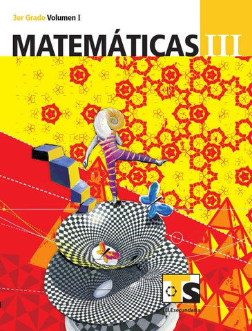 Matemáticas 3er. Grado Volumen I