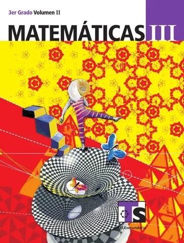 Matemáticas 3er. Grado Volumen II