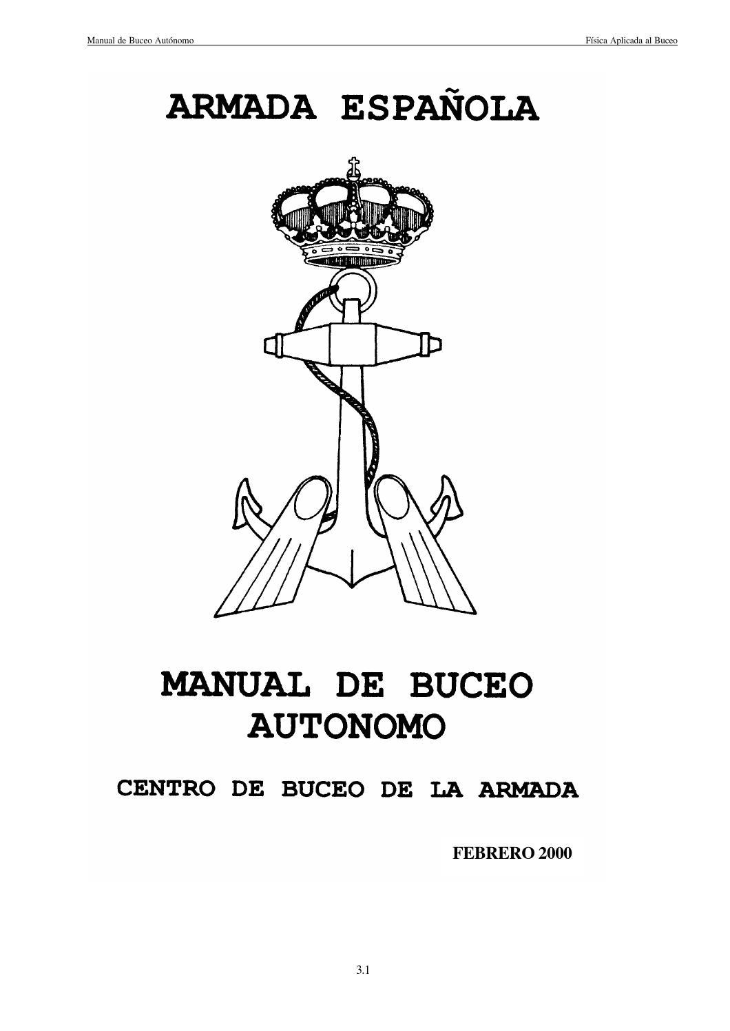 Libro completo buceo autonomo 2000 finalizado by Daniel