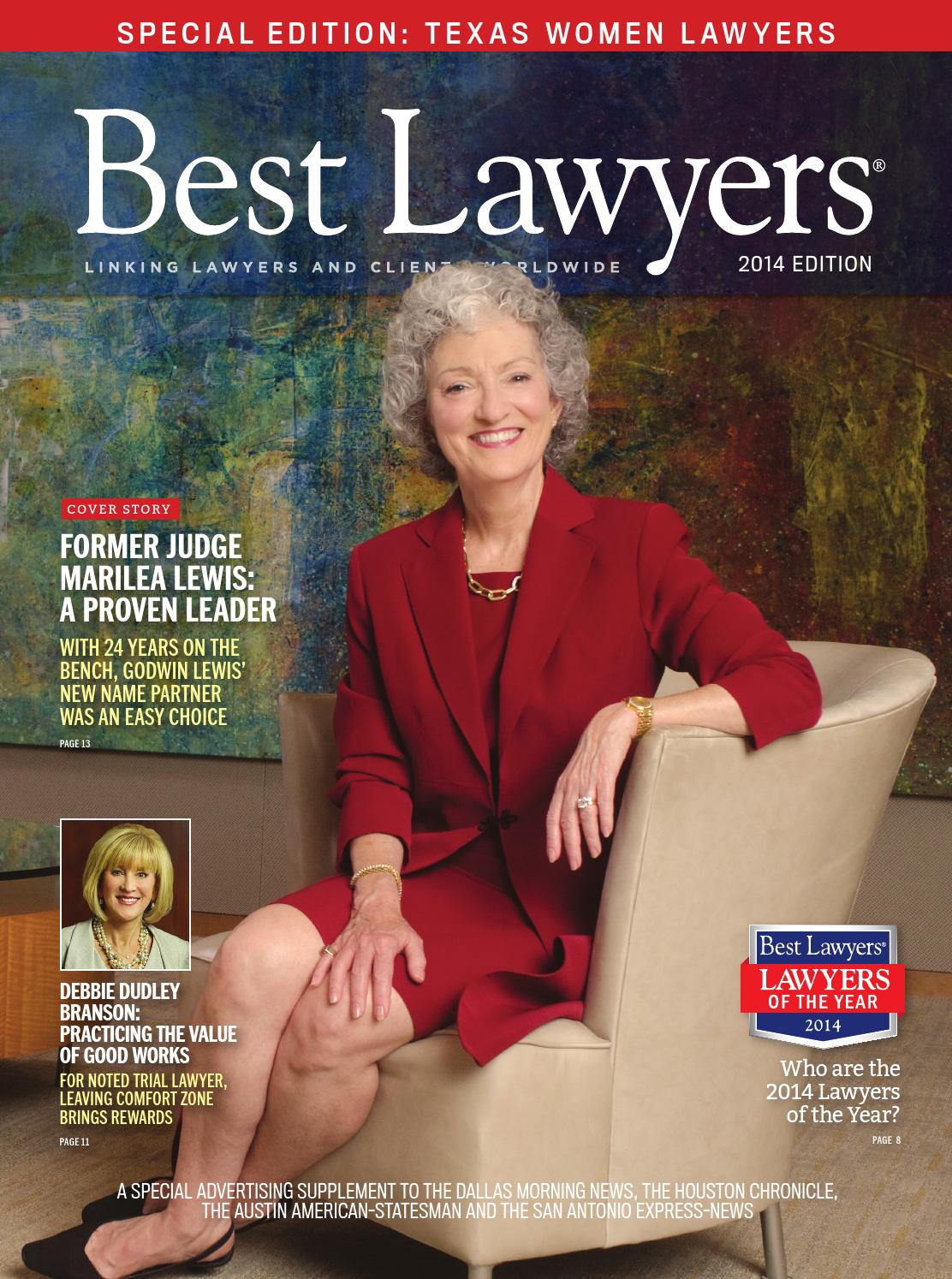 Texas Women Lawyers By Best Lawyers Issuu