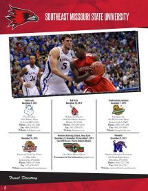 2013-14 Southeast Missouri Men' Basketball Guide