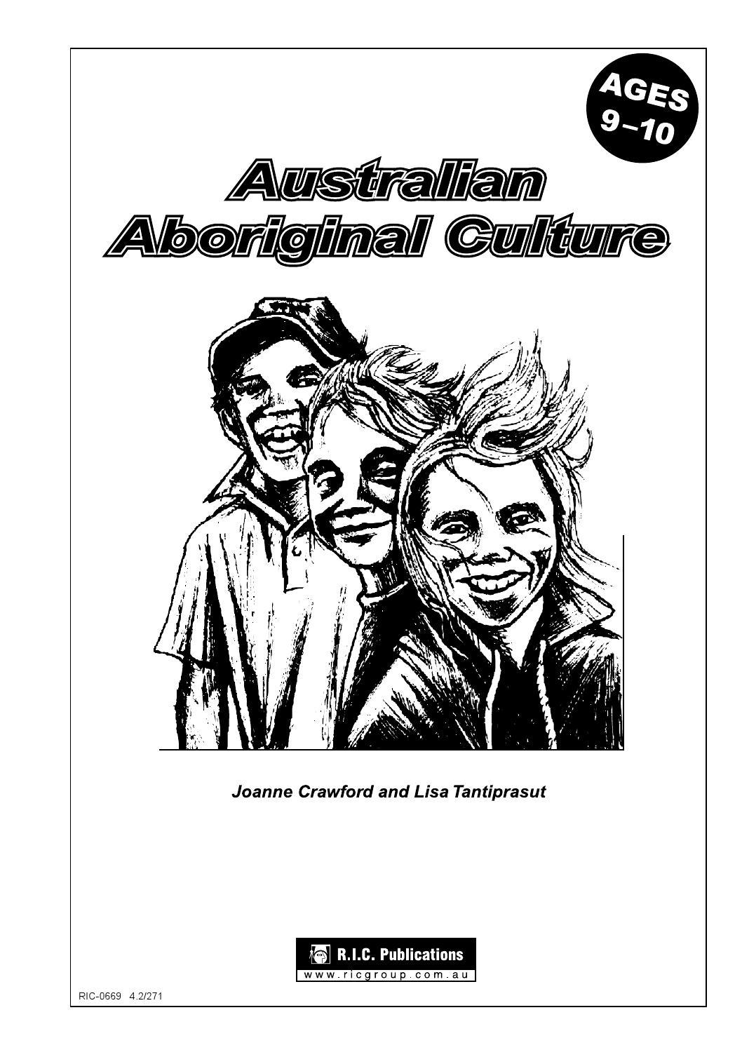 Australian Aboriginal Culture: Ages 9-10 by Teacher