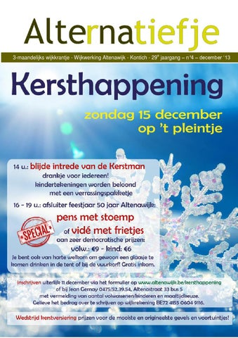 Alternatiefje december 2013