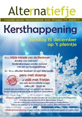 Alternatiefje december 2013
