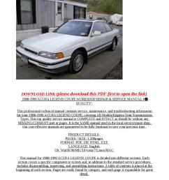 acura legend 1993 workshop repair manual pdf high performance vehicles 1988 6 wiring schematic you can also link continue  [ 1058 x 1497 Pixel ]