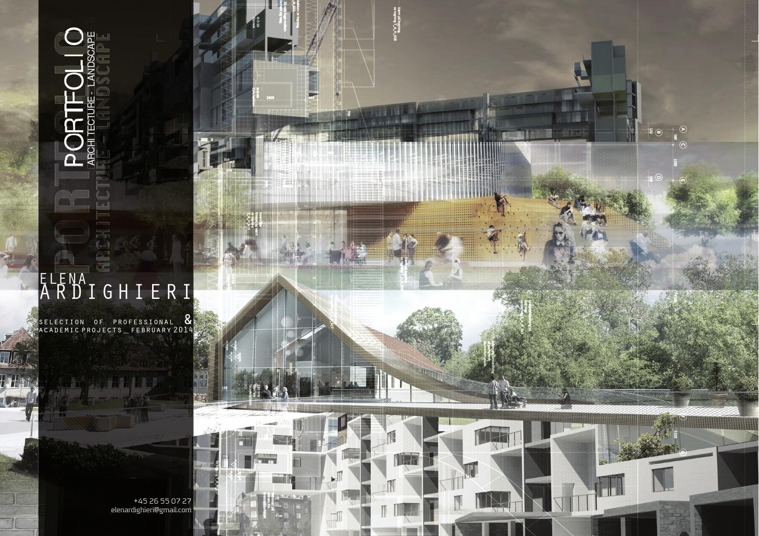 Portfolio 2014  Architecture & Landscape By Elena