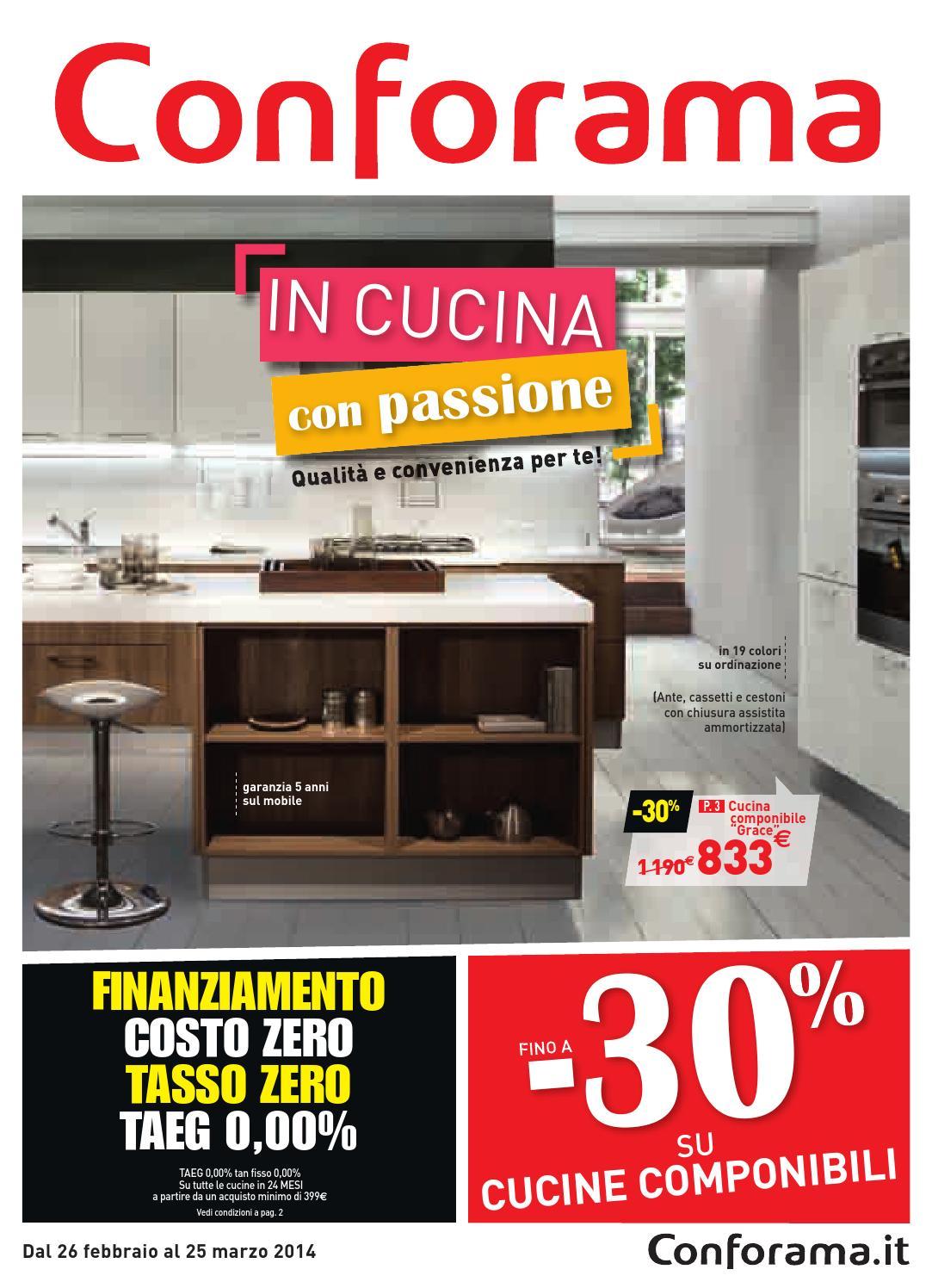 Conforama cucina che passione by Mobilpro  issuu