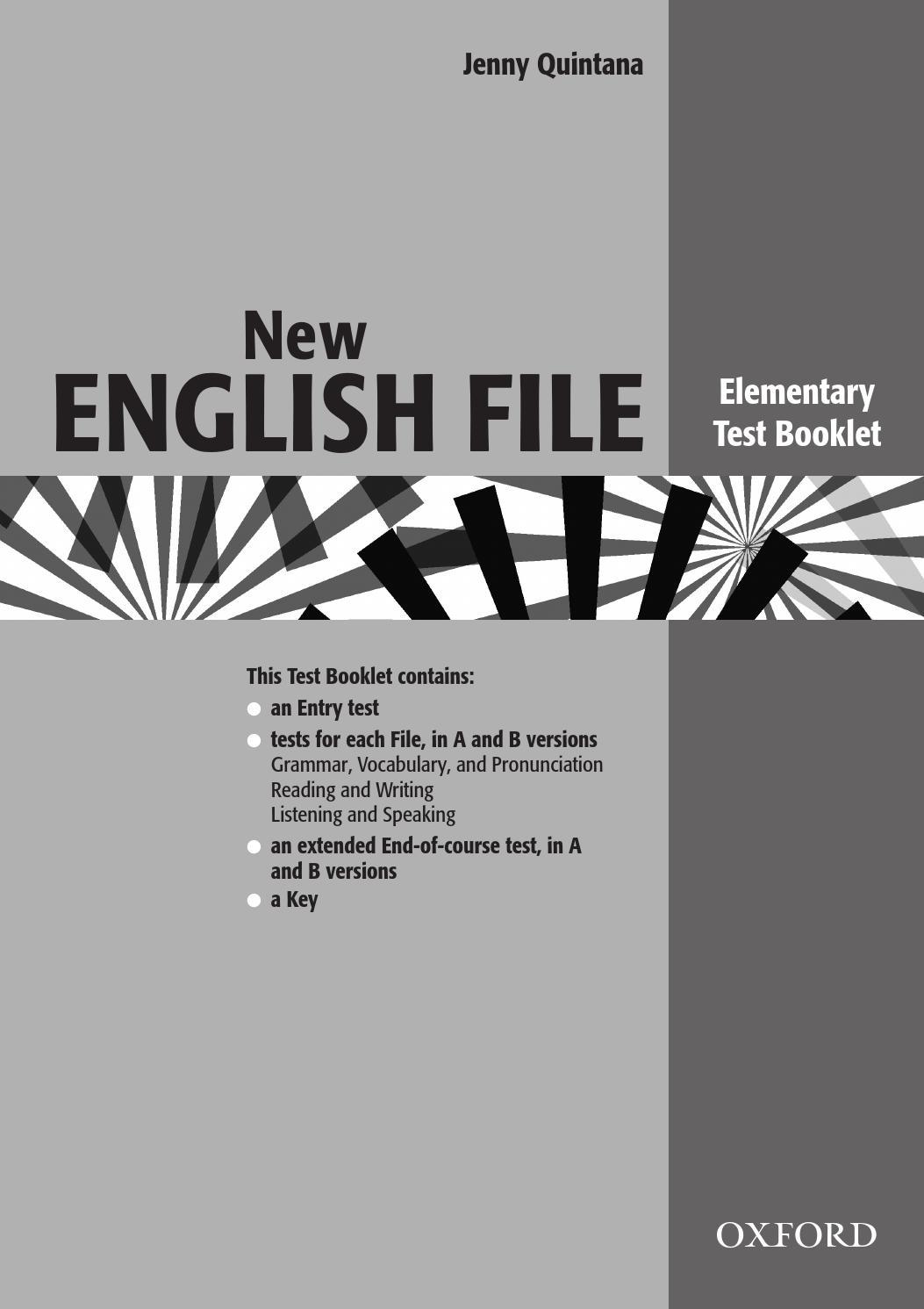 Solutions Elementary Test Book Бесплатно