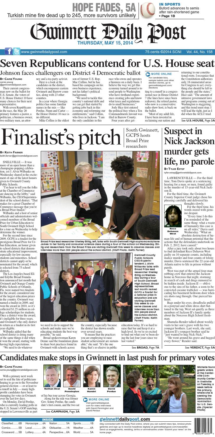 May 15 2014 — Gwinnett Daily Post By Gwinnett Daily Post Issuu