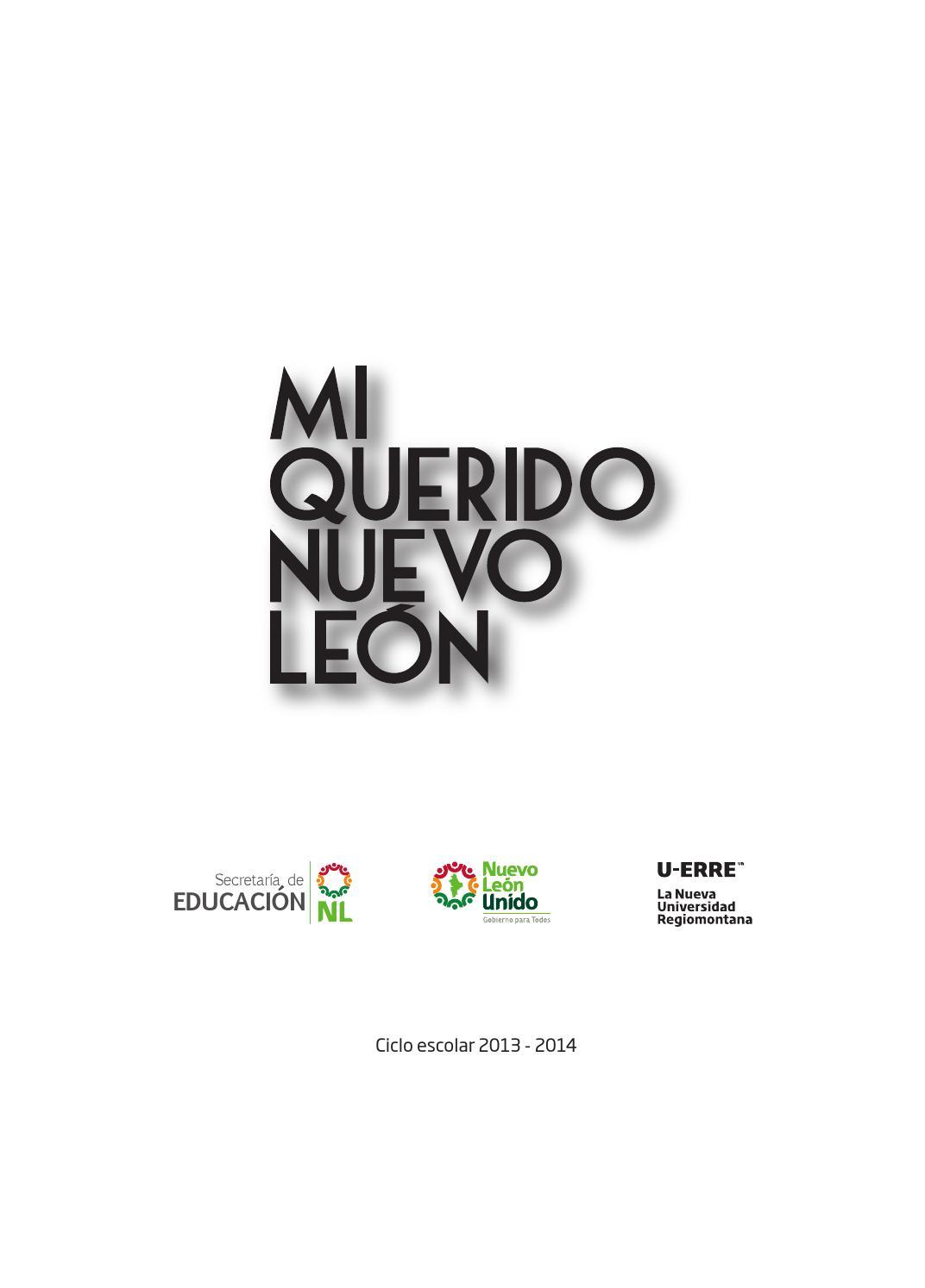 Mi querido Nuevo León by U-ERRE Universidad Regiomontana