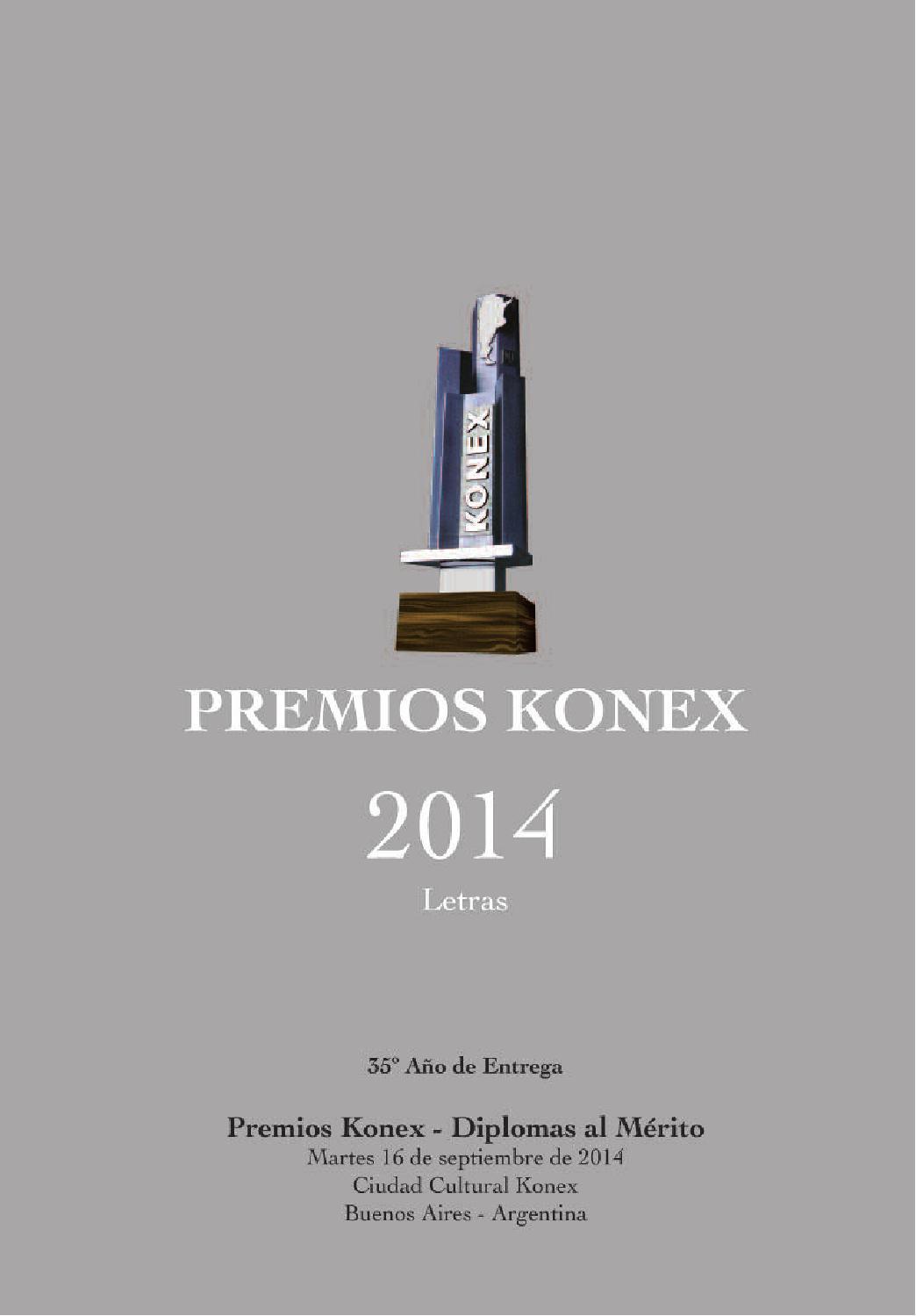Programa Premios Konex 2014: Diplomas al Mérito by