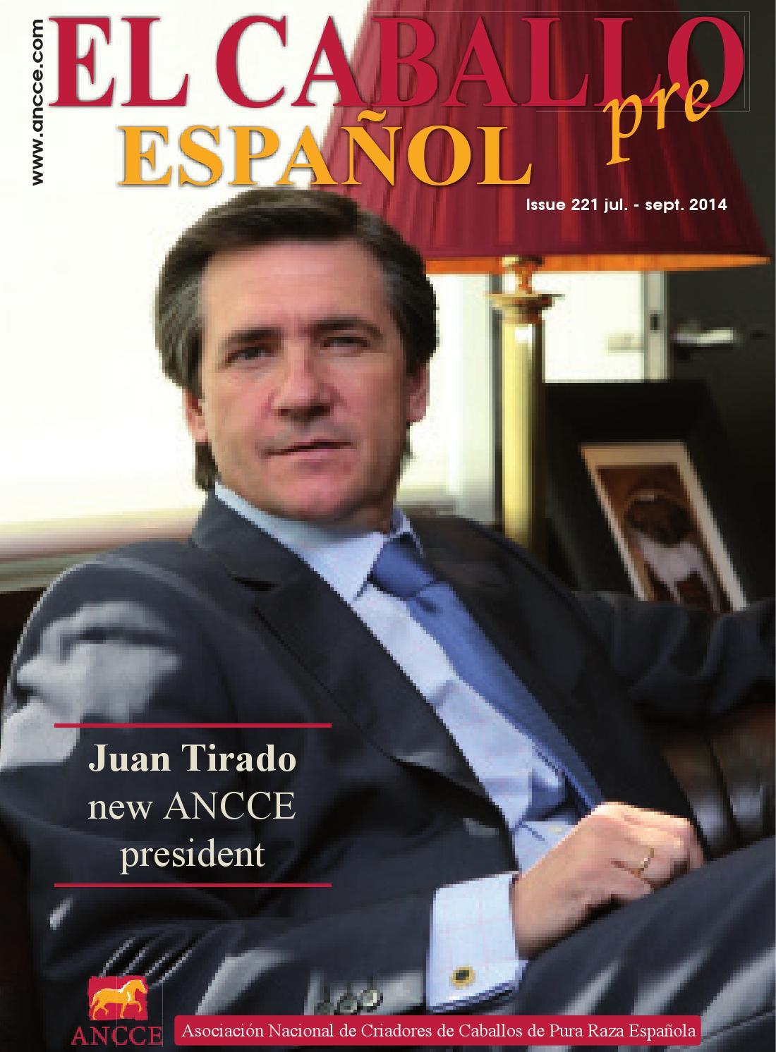 Magazine El Caballo Espaol 2014 n221 English by