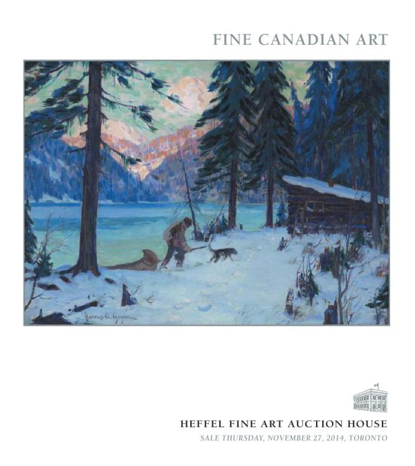 Fine Canadian Art Heffel Auction House - Issuu