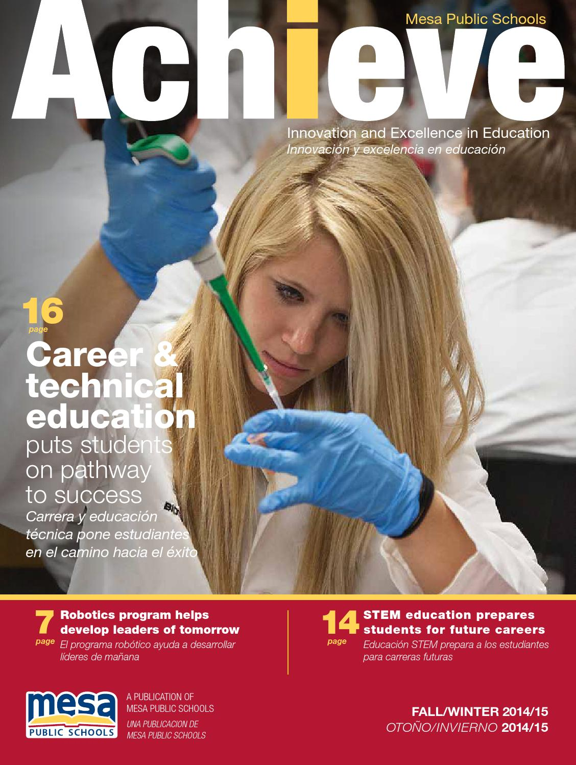 ISSUU  Mesa Public Schools  Achieve Fall 2014 by Republic Media  The Arizona Republic