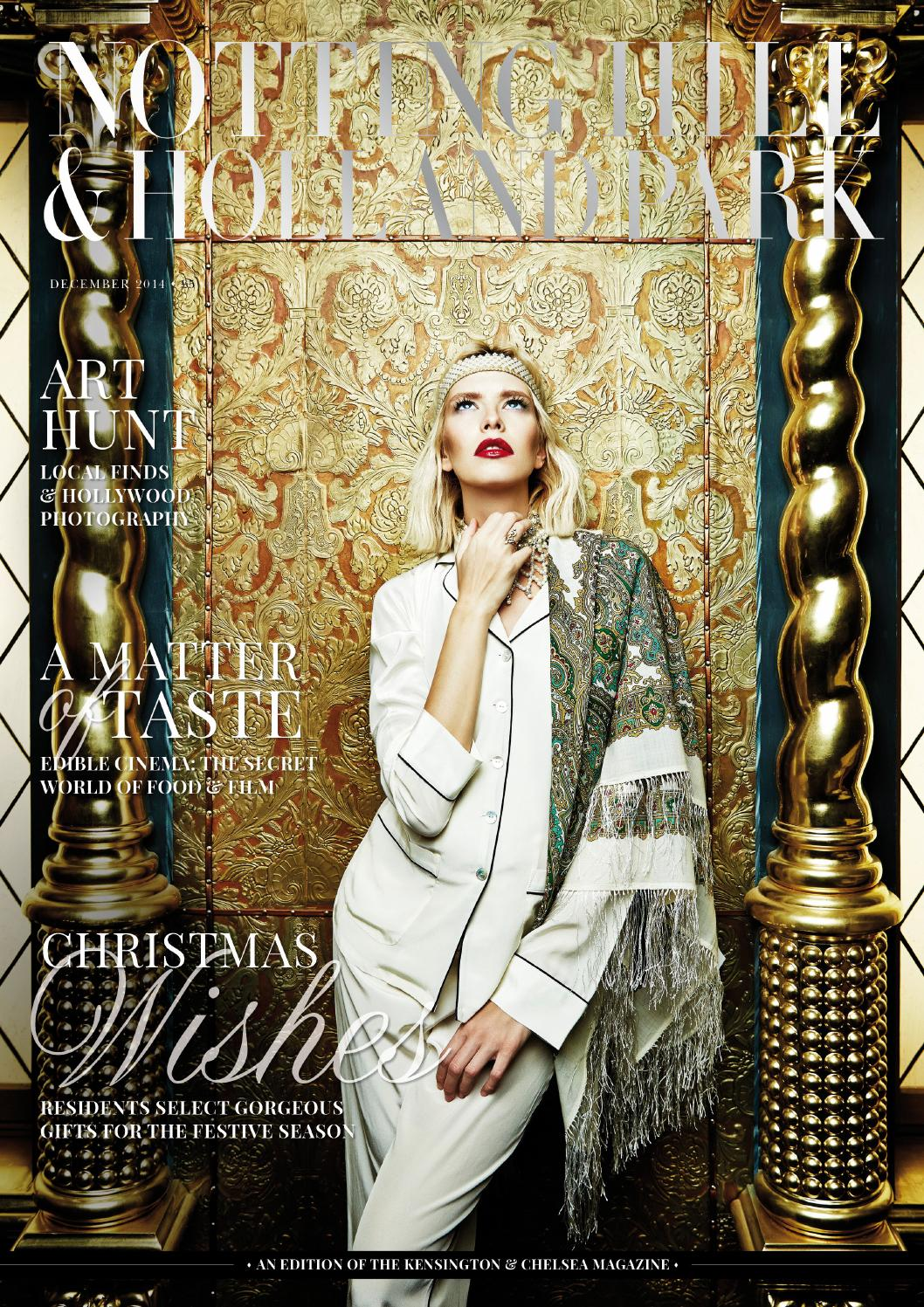 The Notting Hill  Holland Park magazine December 2014 by