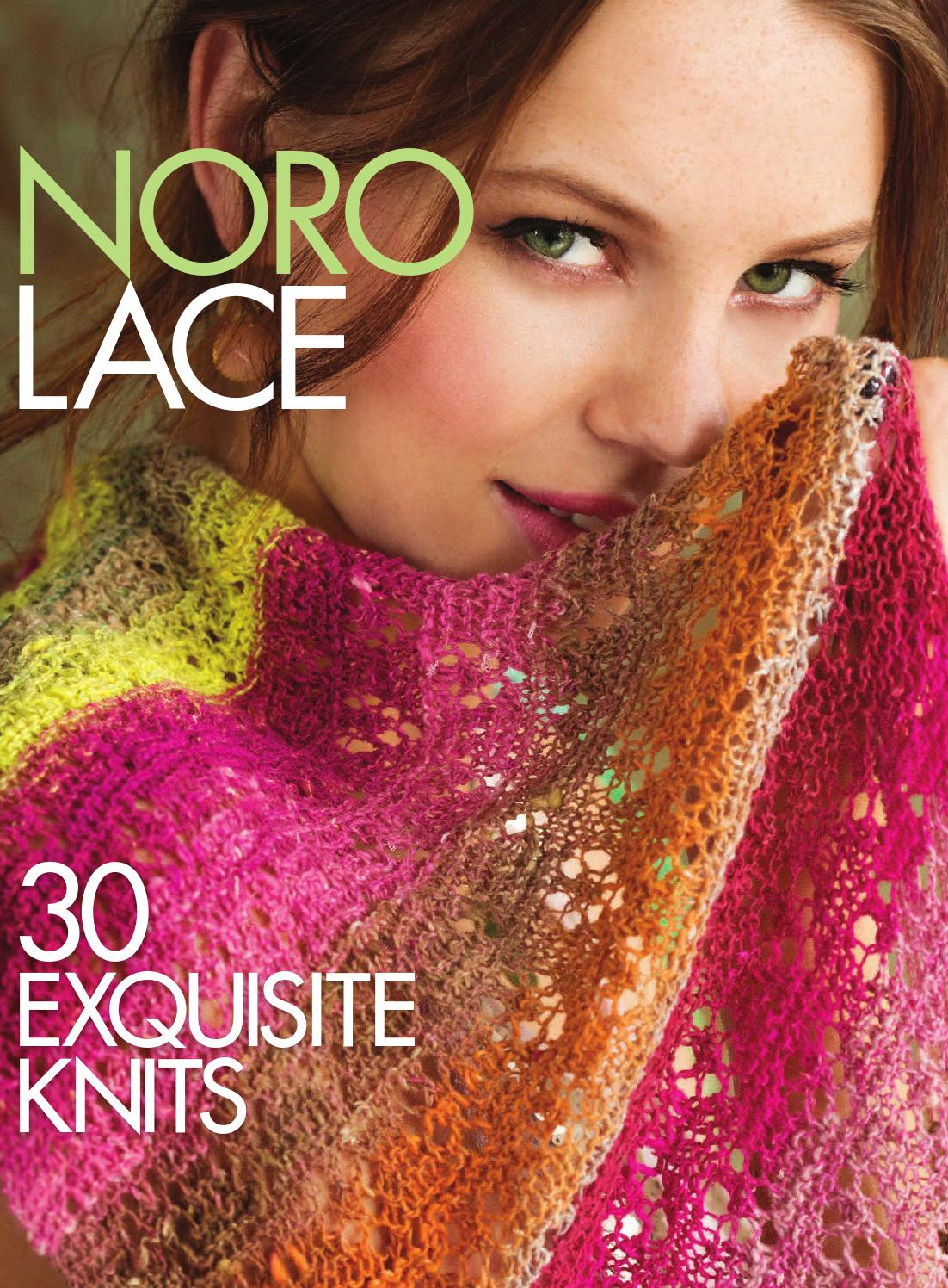 Issuu  Noro Lace 30 Exquisite Knits By Sixth&spring Books