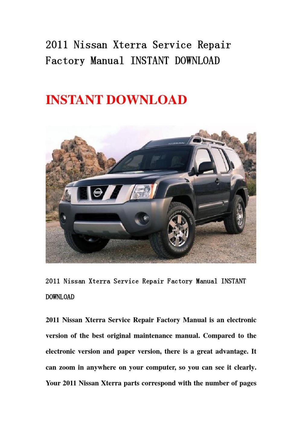 medium resolution of 2002 nissan xterra owner s manual