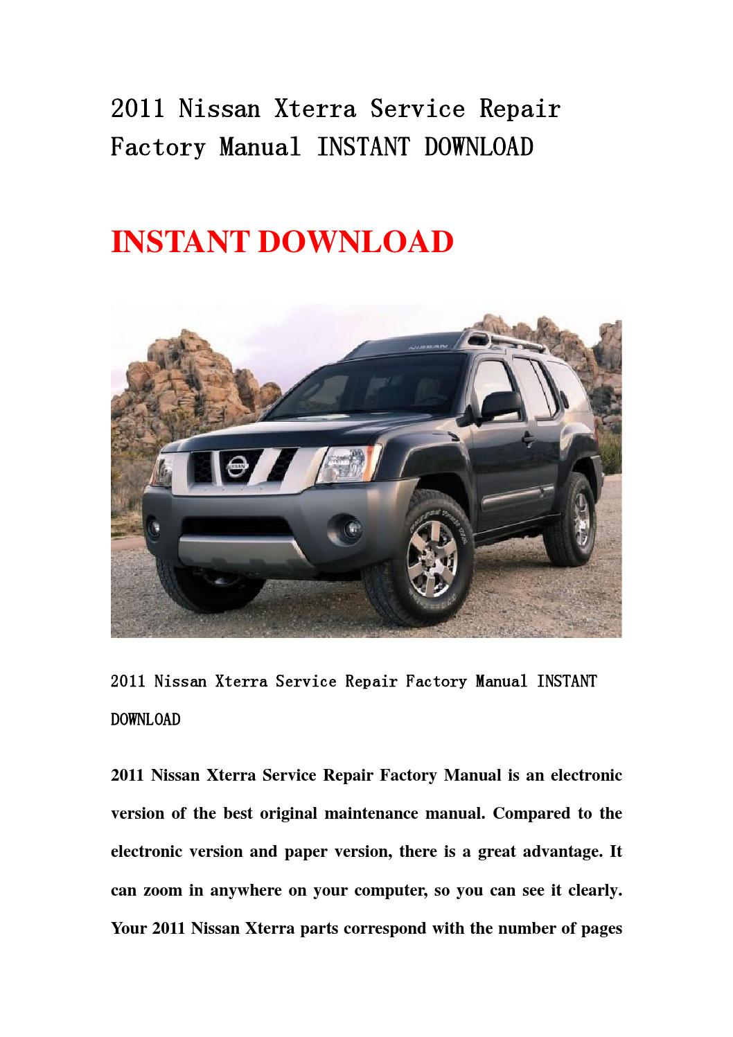 hight resolution of 2002 nissan xterra owner s manual
