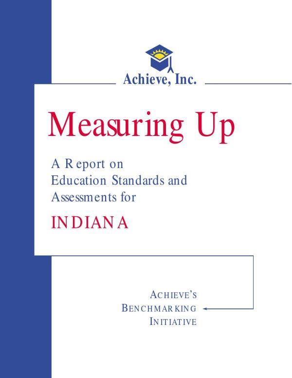 Indiana Education Standards