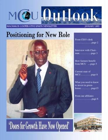 MCU Newsletter - January 2013