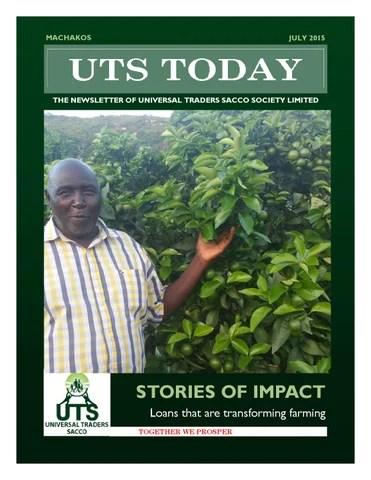 UTS Newsletter - July 2015