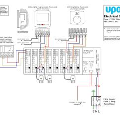 230v Generator Wiring Diagram For 2000 Honda Accord Door Uponor Underfloor Heating Diagrams