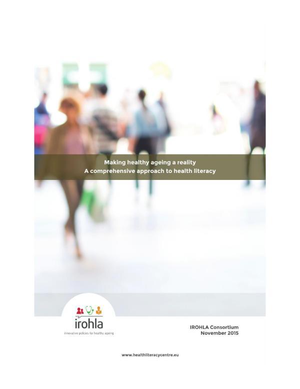 Health Literacy Brochure