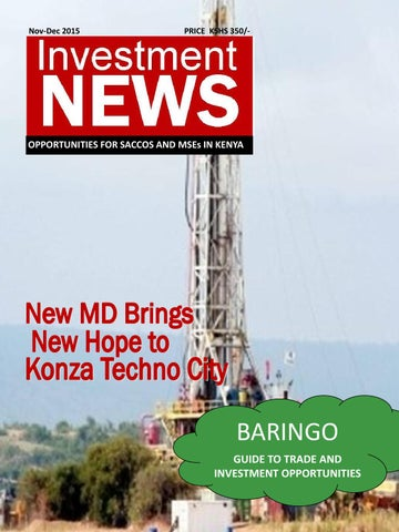 Investment News - Baringo County Investor Guide - DEC 2015