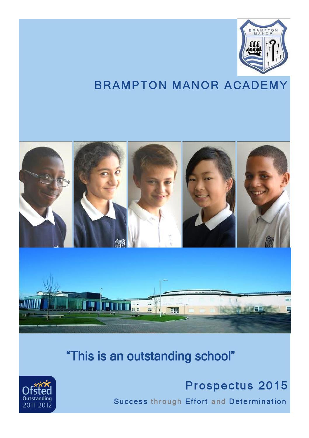 Brampton Manor Academy Prospectus 2015 by FSE Design  issuu