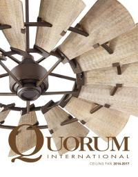 Quorum ceiling fans 2016 indoor ceiling fans 2016 fans by ...